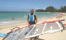 Andy Windsurfing