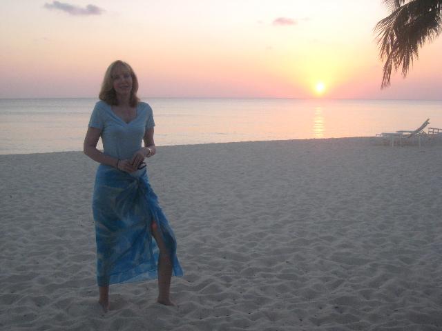 Debra at the Beach